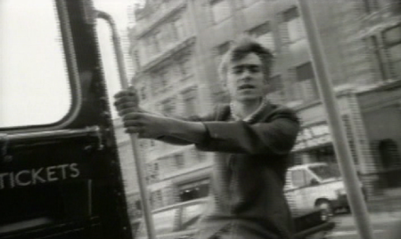 Damon Albarn in the promo video for For Tomorrow by Blur.