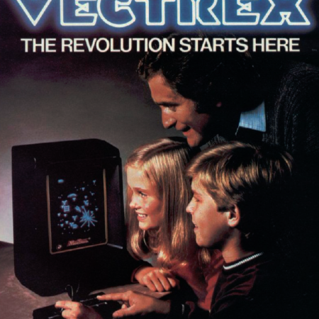 The Vectrex Arcade System, as discussed by Tim Worthington and Paul Putner in Looks Unfamiliar.