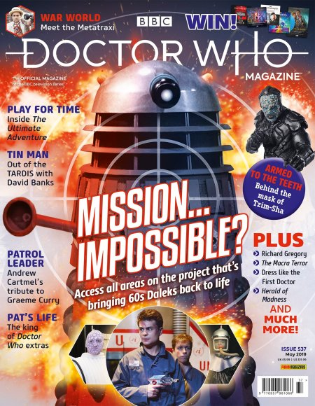 Doctor Who Magazine Issue 537