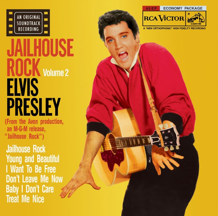 Jailhouse Rock Volume 2 by Elvis Presley.