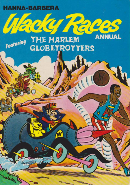 The Wacky Races Annual 1970, as discussed by Ben Baker and Phil Catterall in Looks Unfamiliar.