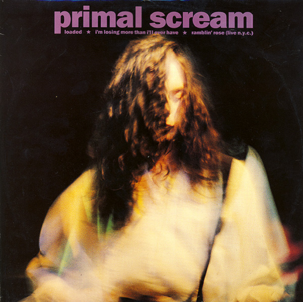 Loaded by Primal Scream - single cover.
