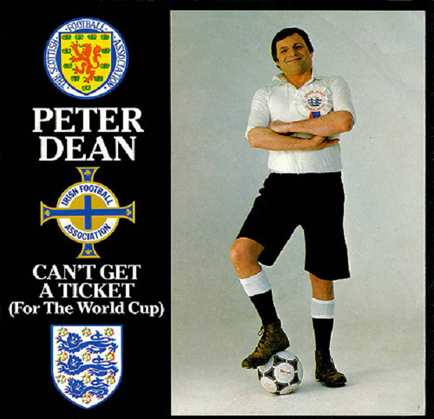 Can't Get A Ticket (For The World Cup) by Peter Dean, as discussed by Tim Worthington and broadcaster Bob Fischer in Looks Unfamiliar.