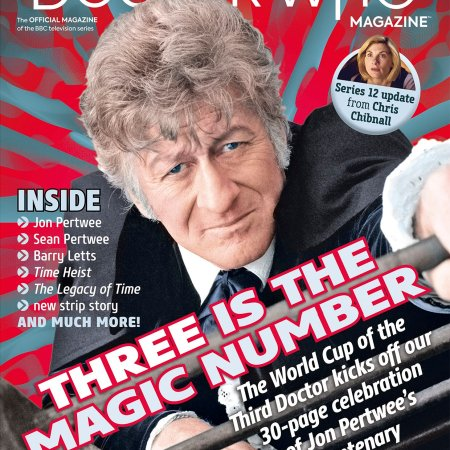 Doctor Who Magazine Issue #540.