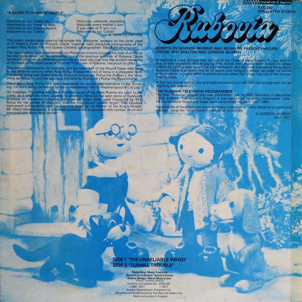 Rubovia (BBC Records And Tapes, 1976).