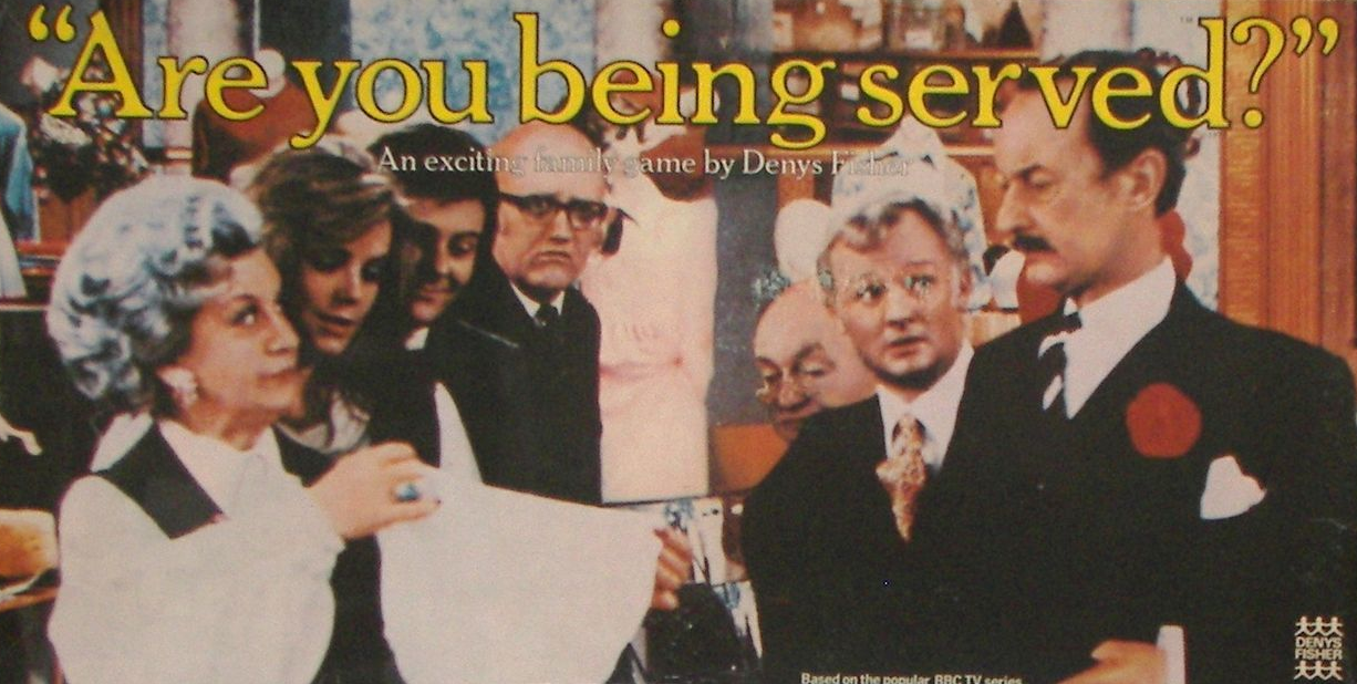 Are You Being Served? board game by Denys Fisher.