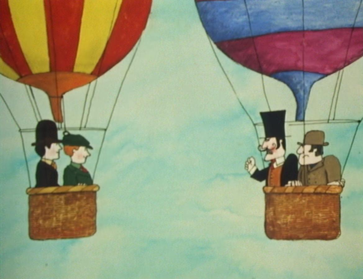 Mr Benn - The Balloonist (BBC1, 1972).