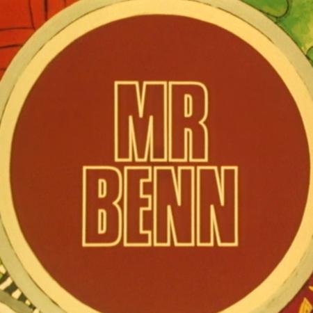 Mr Benn (BBC1, 1972) - Title Card.