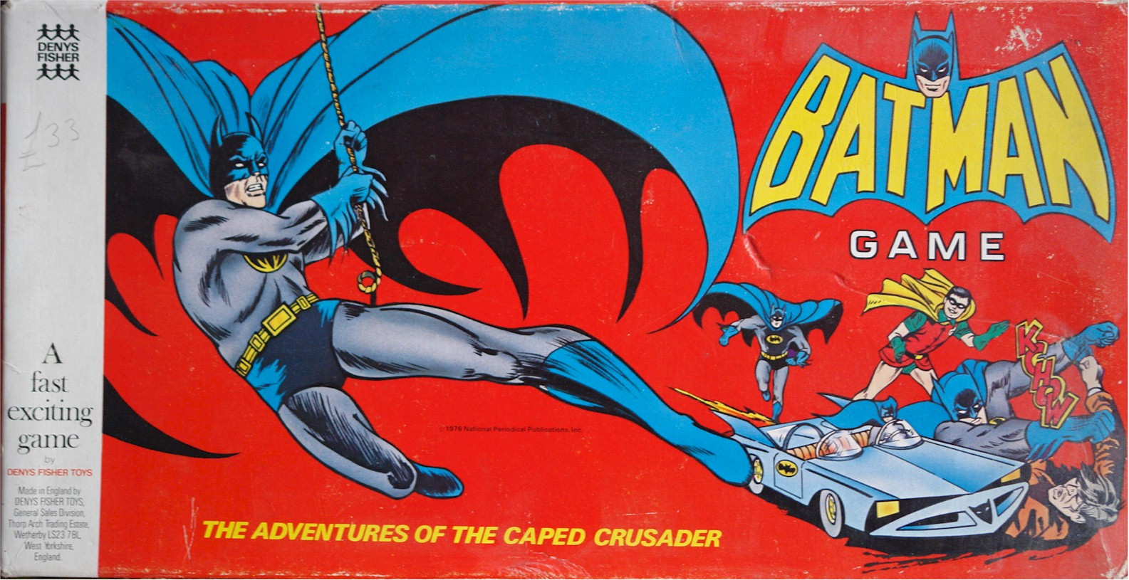 Bat-Man board game by Denys Fisher.