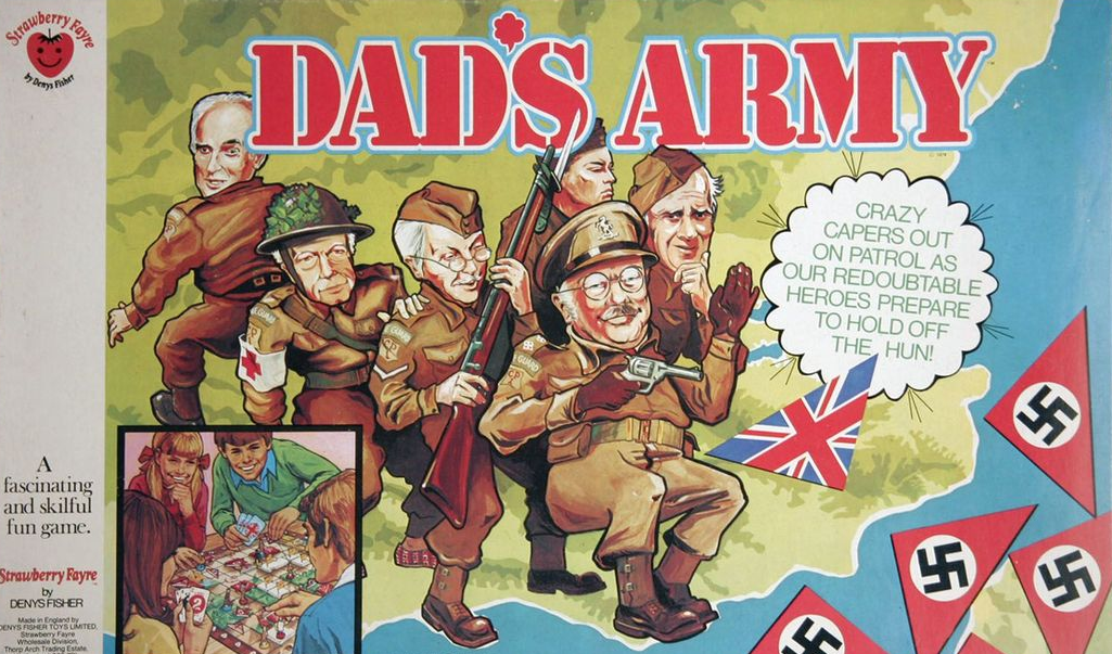 Dad's Army board game by Denys Fisher.