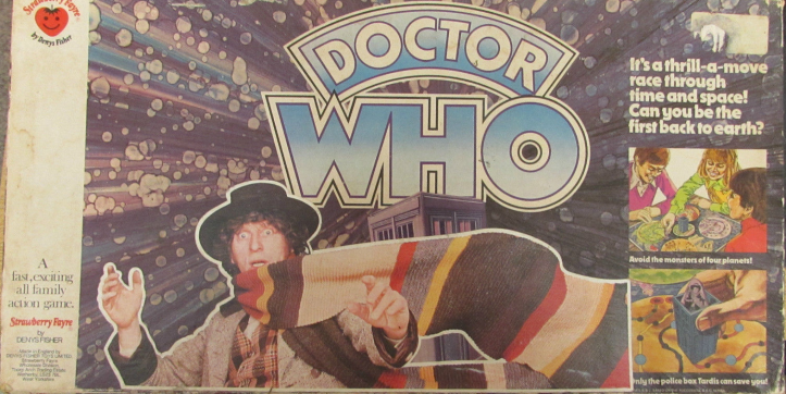 Doctor Who board game by Denys Fisher.