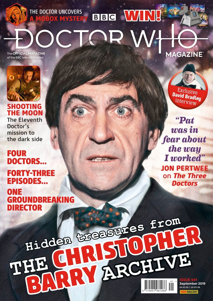 Doctor Who Magazine issue #541.