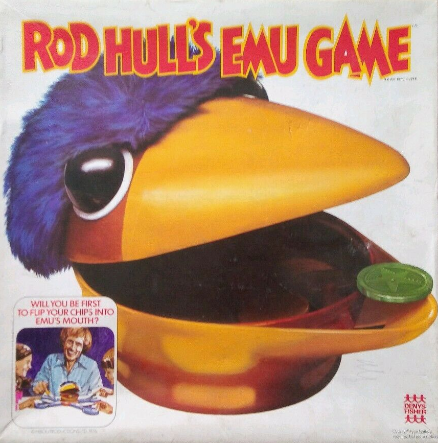Rod Hull's Emu Game board game by Denys Fisher.