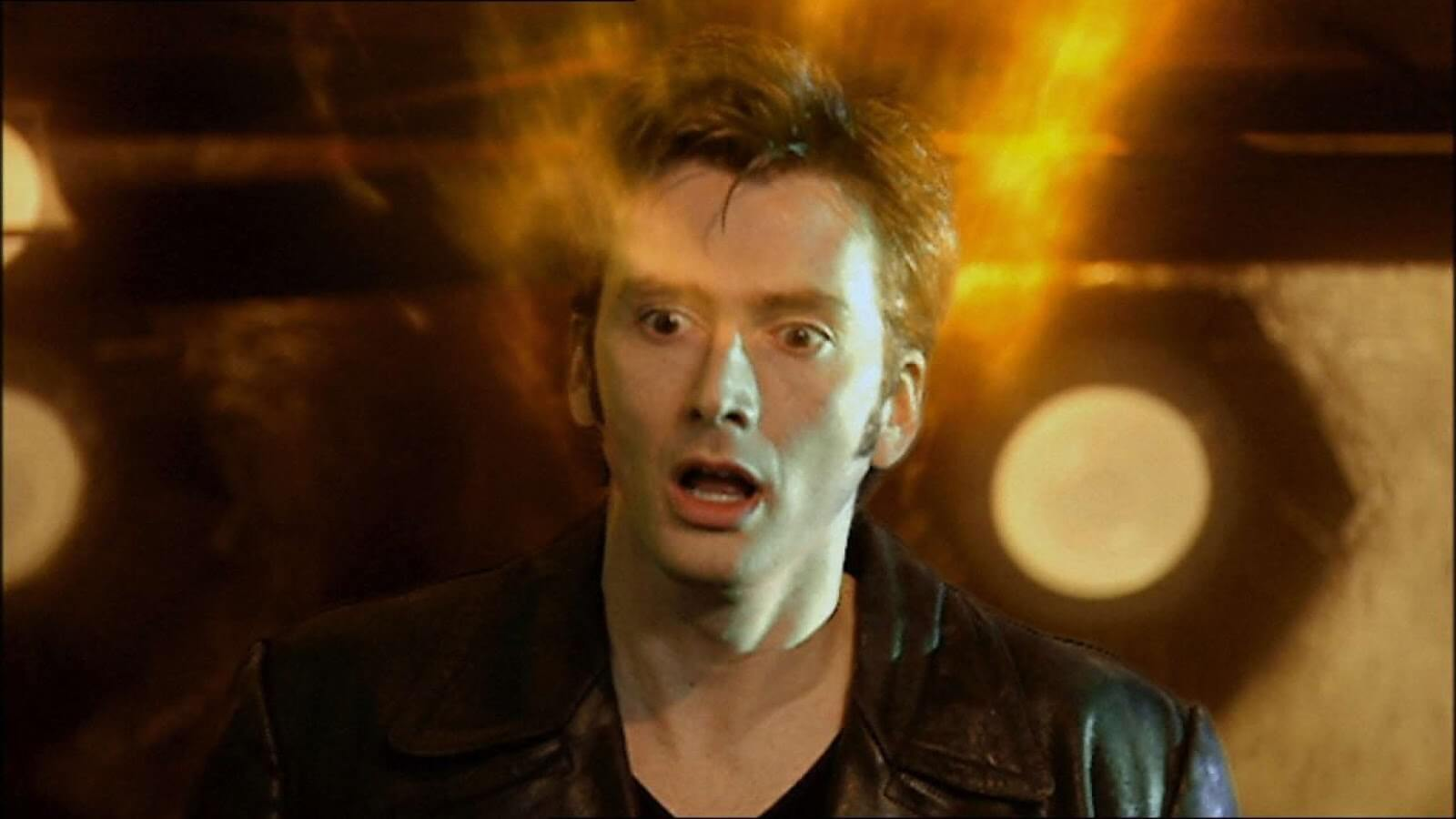 David Tennant makes his first appearance in Doctor Who - The Parting Of The Ways (BBC1, 2005).
