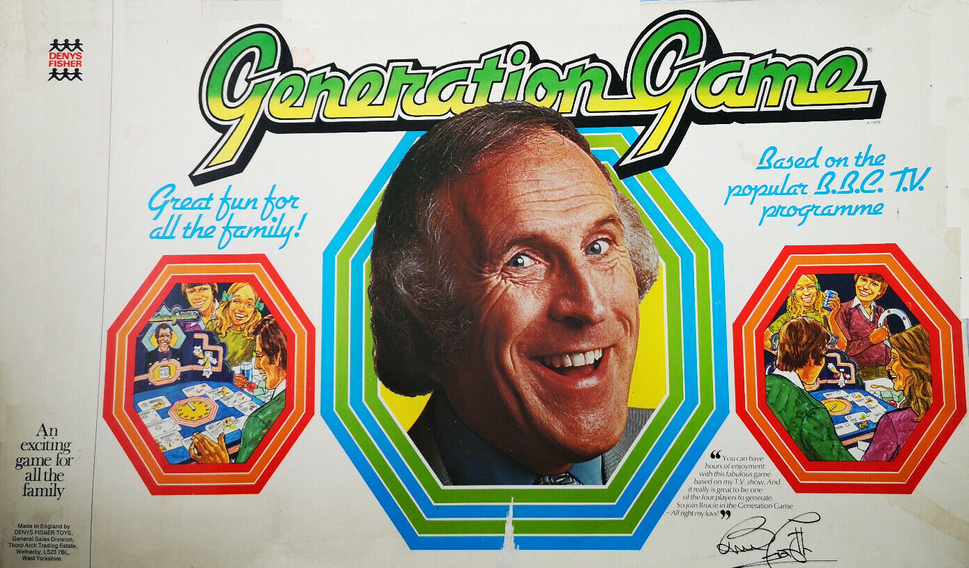 Generation Game board game by Denys Fisher.