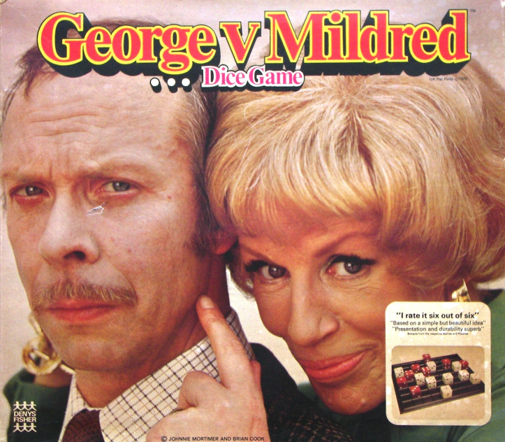 George V. Mildred board game by Denys Fisher.
