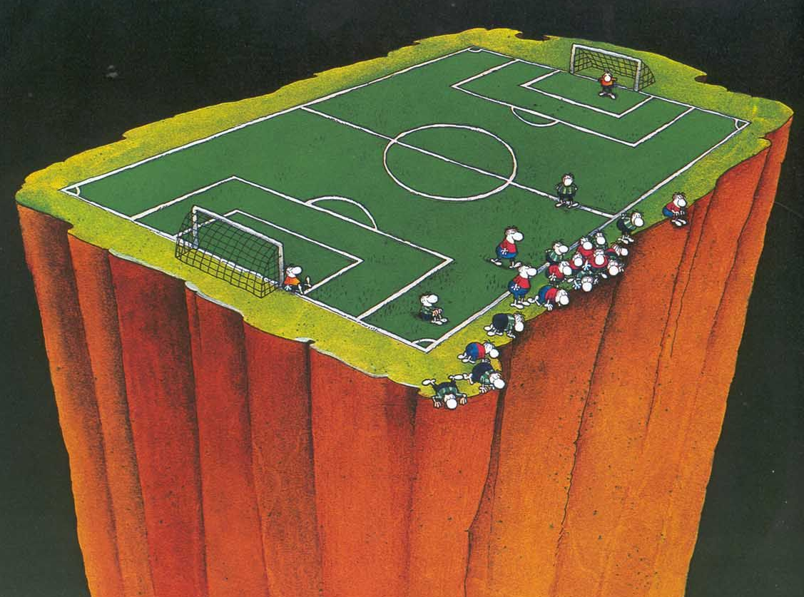 'Football' by Mordillo - listen to Chris Hughes and Tim Worthington chatting about it in Looks Unfamiliar.