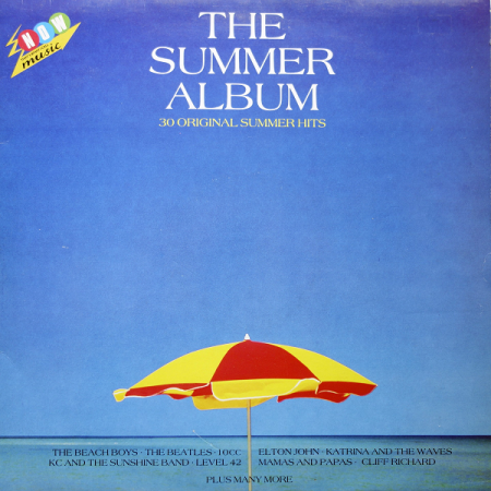 Cover of Now - The Summer Album (EMI/Virgin, 1986).
