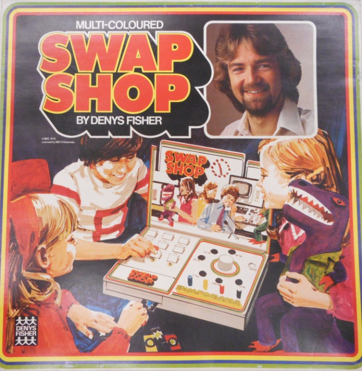 Multi-Coloured Swap Shop board game by Denys Fisher.