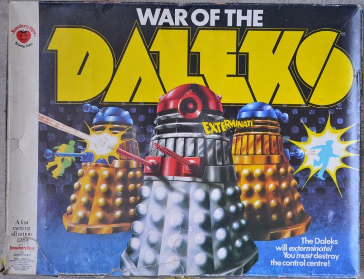 War Of The Daleks board game by Denys Fisher.