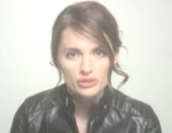 Hana Gitelman (Stana Katic) from Heroes.