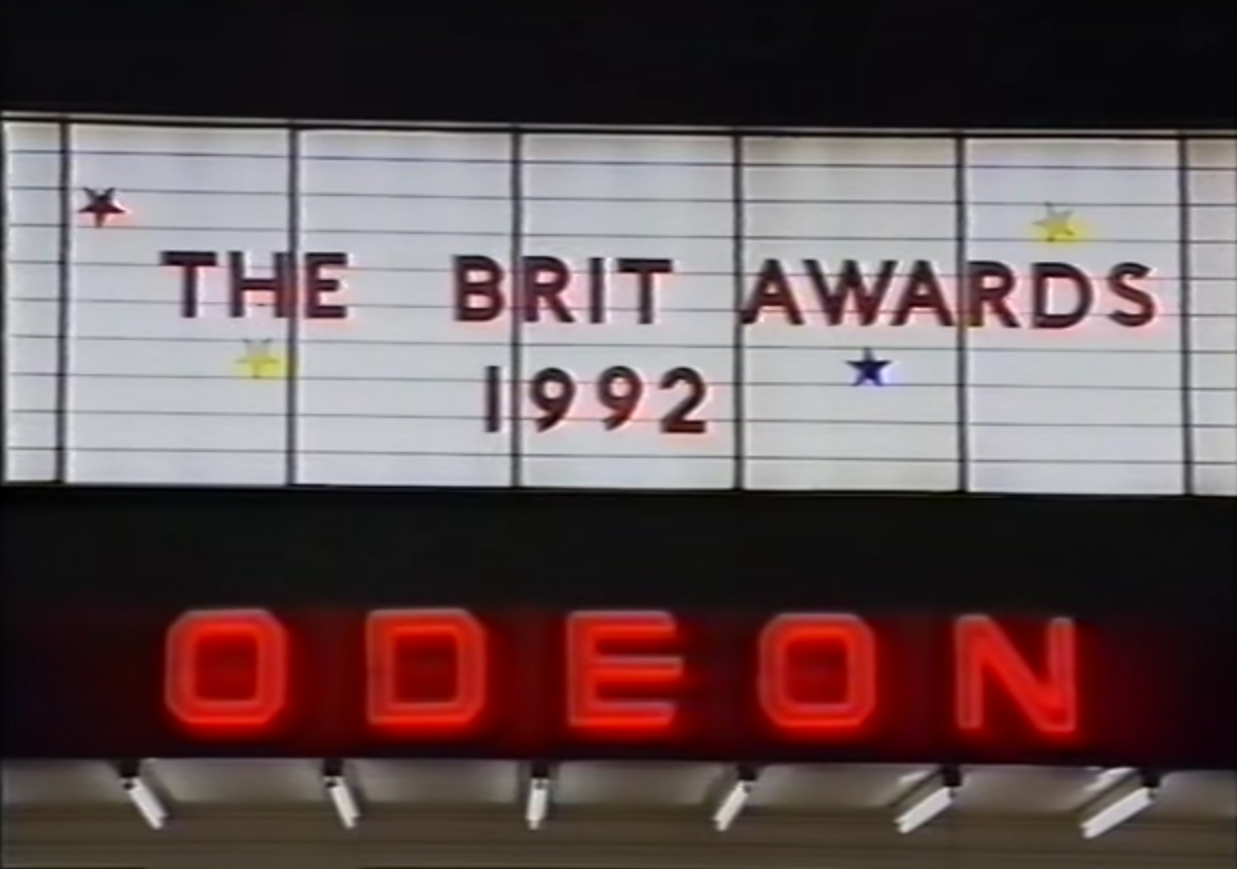 The KLF vs Extreme Noise Terror at the Brit Awards (1992).