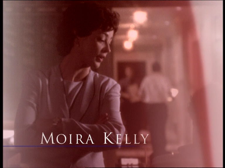 Mandy Hampton (Moira Kelly) from The West Wing.