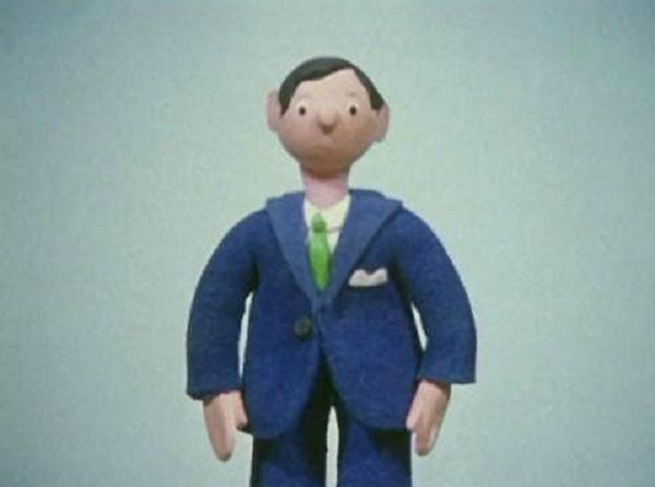 Mr. Dagenham The Salesman from Camberwick Green.