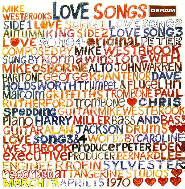 MIke Westbrook's Love Songs by The Mike Westbrook Concert Band (Deram, 1970).