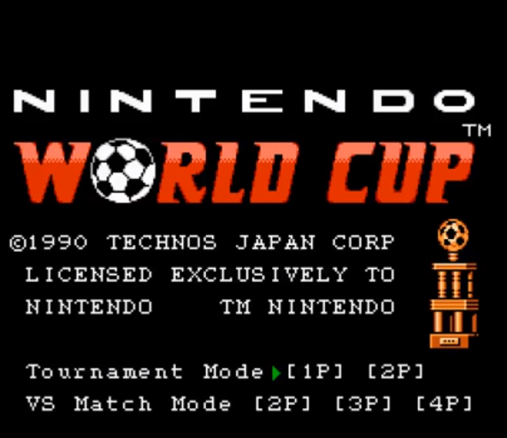 NIntendo World Cup (NES, 1990).