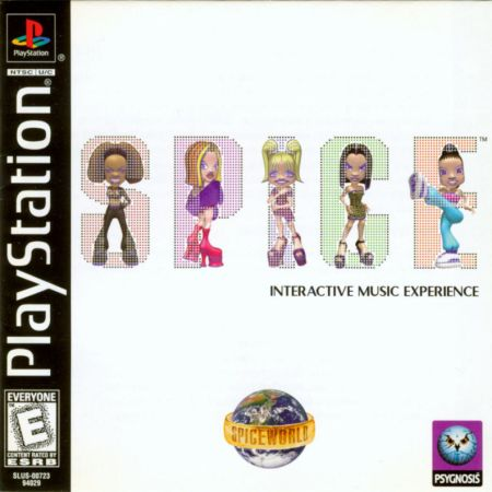 The Spice Girls: Spice World for the Playstation, as discussed by Tim Worthington and writer Jim Sangster in Looks Unfamiliar.