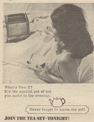 A 'Join The Tea-Set' advert from Radio Times, 1965.