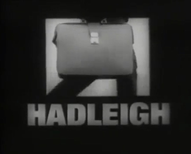 Title card from Hadleigh - Patron Of The Arts (Yorkshire/ITV, 1969)