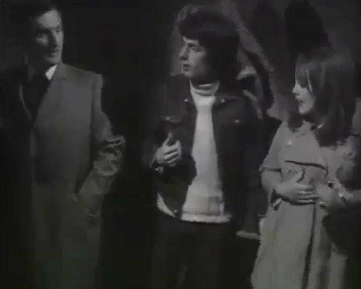 Gerald Harper and Paula Wilcox in Hadleigh - Patron Of The Arts (Yorkshire/ITV, 1969)