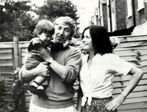 Georgi Markov and Annabel Dilke.