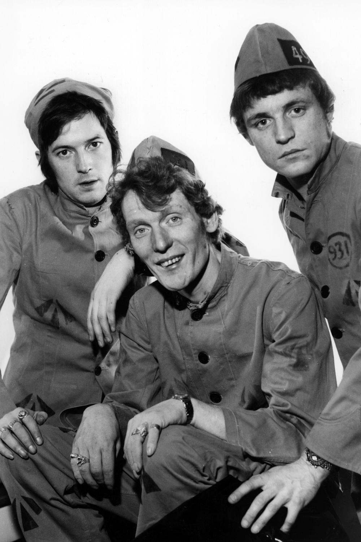 Cream - Eric Clapton, Ginger Baker and Jack Bruce (1966).