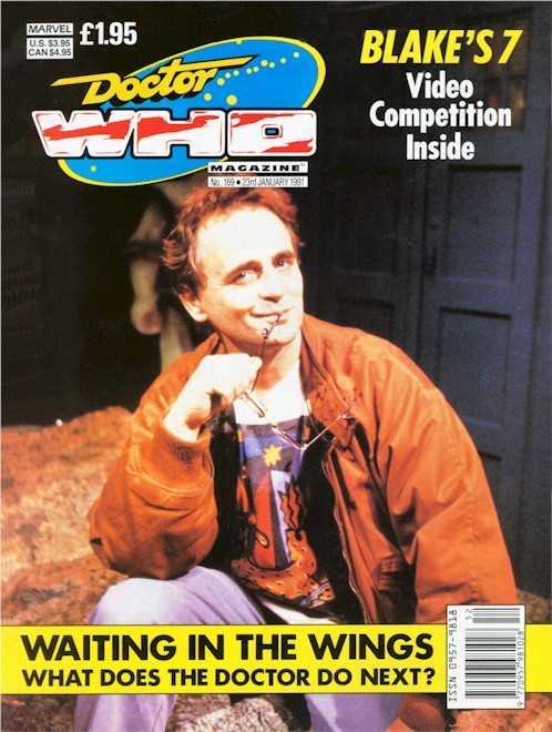Doctor Who Magazine Issue 169.