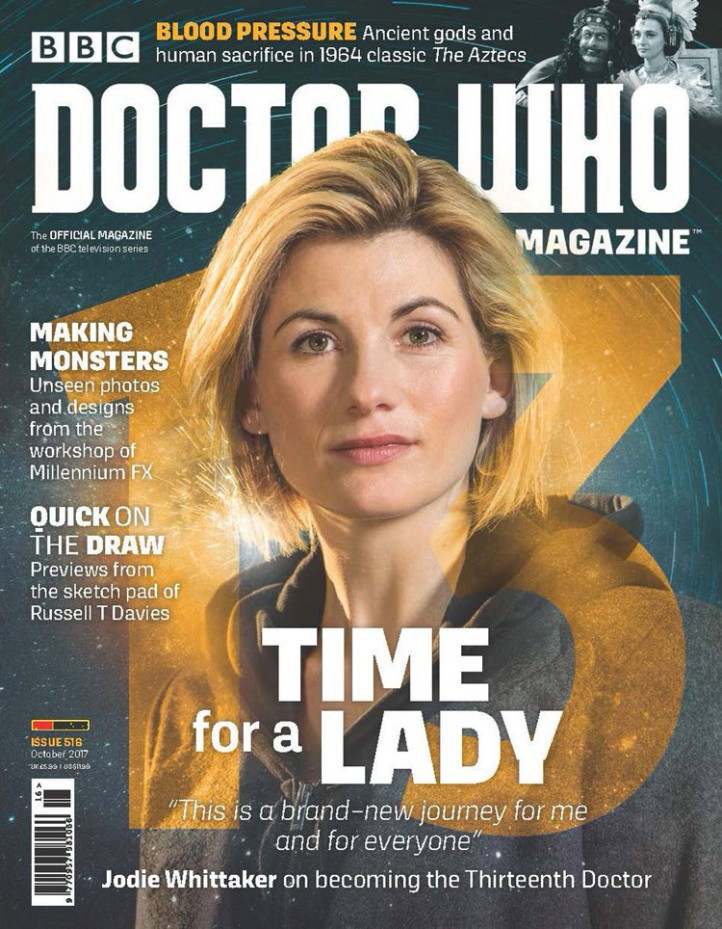 Doctor Who Magazine Issue 516.