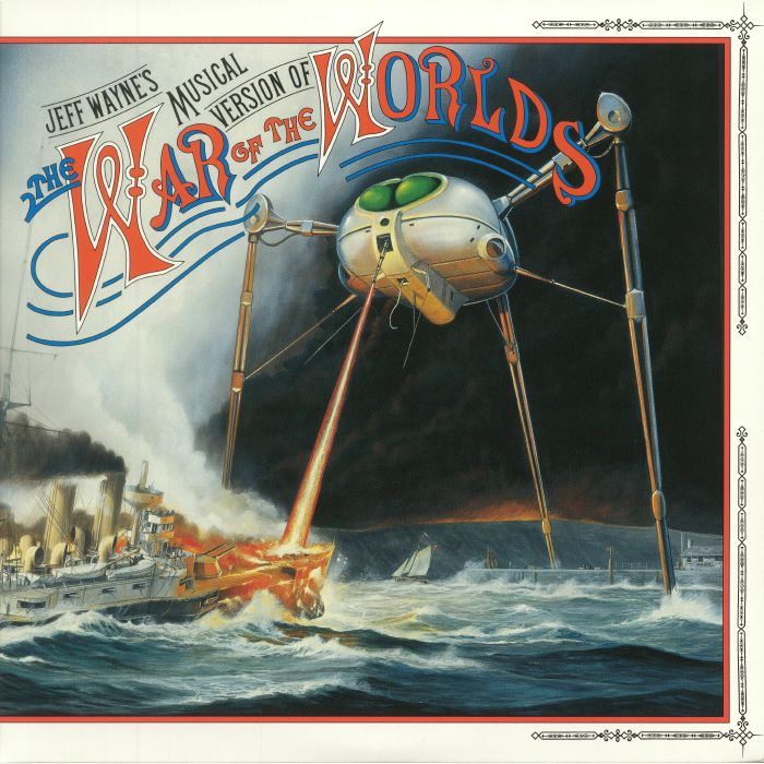 Jeff Wayne's Musical Version Of The War Of The Worlds (Columbia/CBS, 1978).