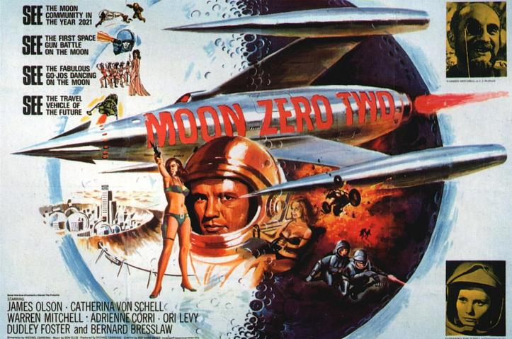 Moon Zero Two (Hammer Films, 1969).