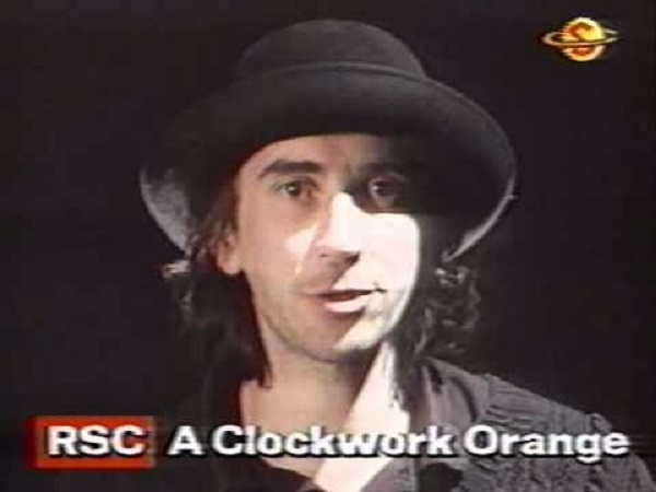 Phil Daniels in A Clockwork Orange (Royal Shakespeare Company, 1990).