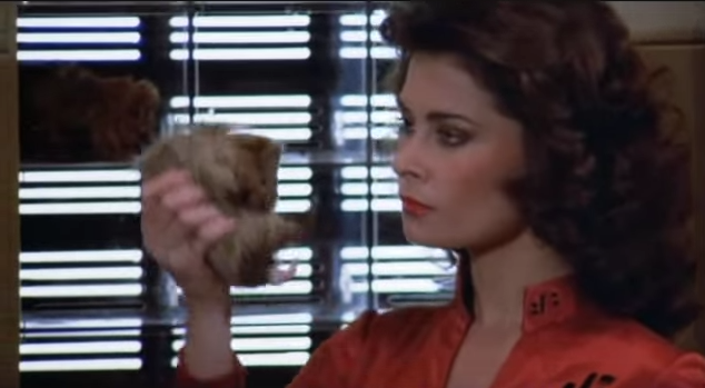 Jane Badler as Diana in V (Warner Bros., 1983).