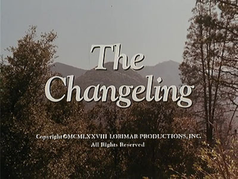 The Changeling, the 'poltergeist' episode of The Waltons (Lorimar, 1978) - listen to Richard Littler talking to Tim Worthington about it in Looks Unfamiliar.