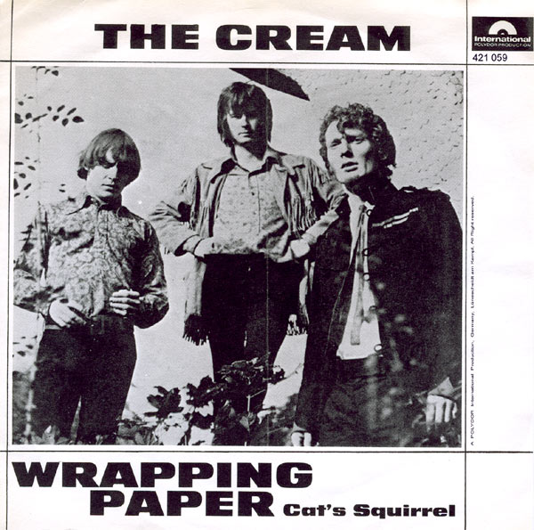 Wrapping Paper by Cream (Polydor International, 1966).