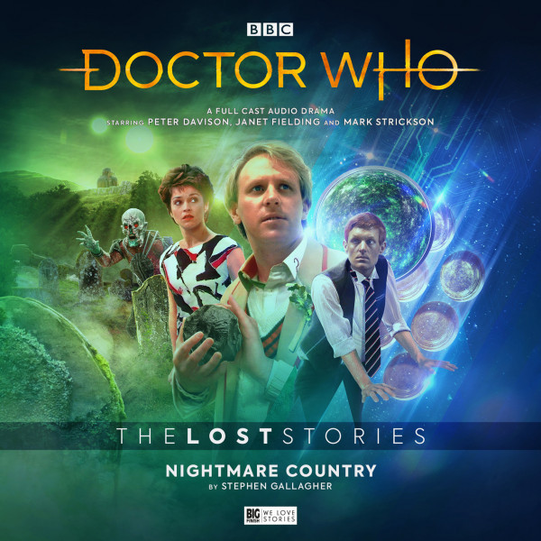Doctor Who: The Lost Stories - Nightmare Country from Big Finish (2019).