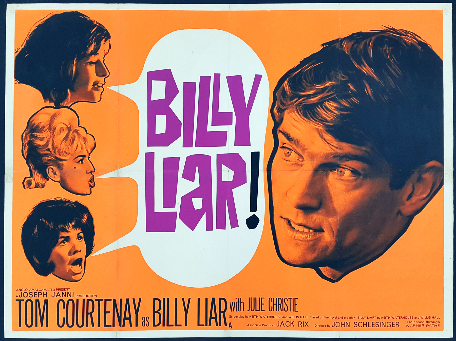 Billy Liar (Anglo-Amalgamated, 1963).