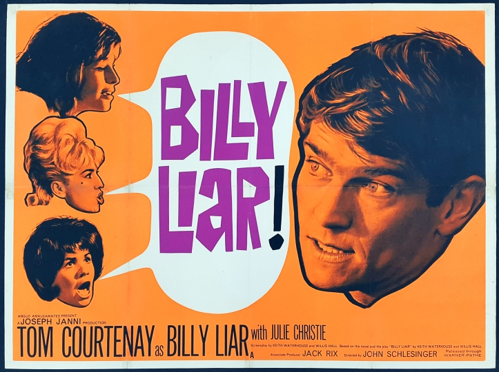 Billy Liar (Anglo-Amalgamated, 1963).