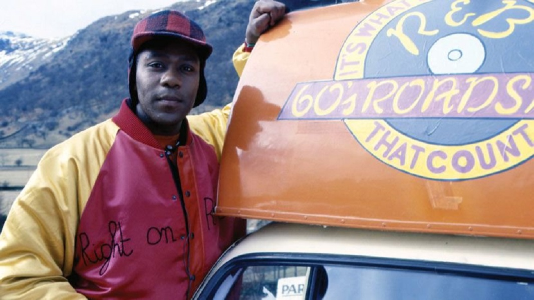 Lenny Henry in Coast To Coast (BBC2, 1987), as discussed by Tim Worthington and Gary Bainbridge in Looks Unfamiliar.