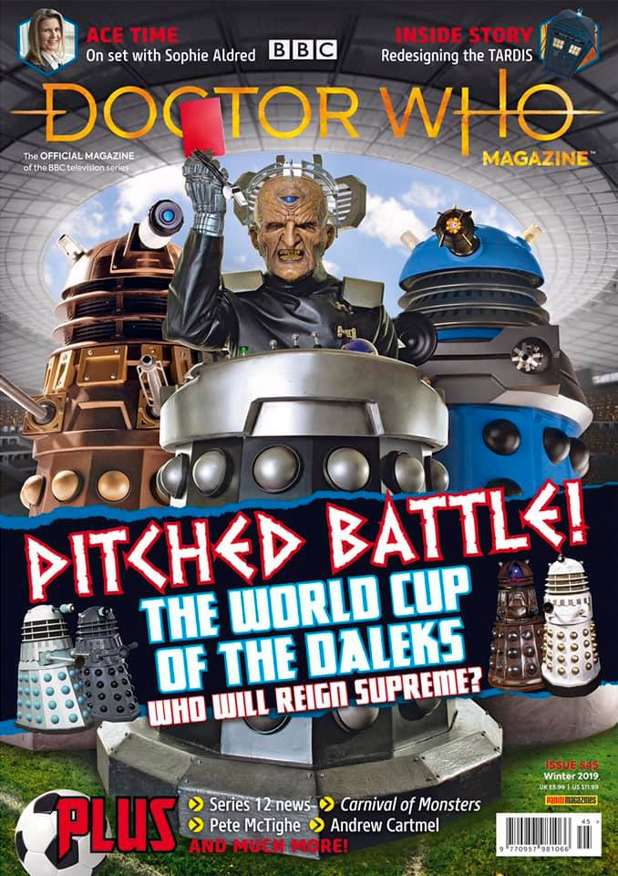 Doctor Who Magazine Issue 545.