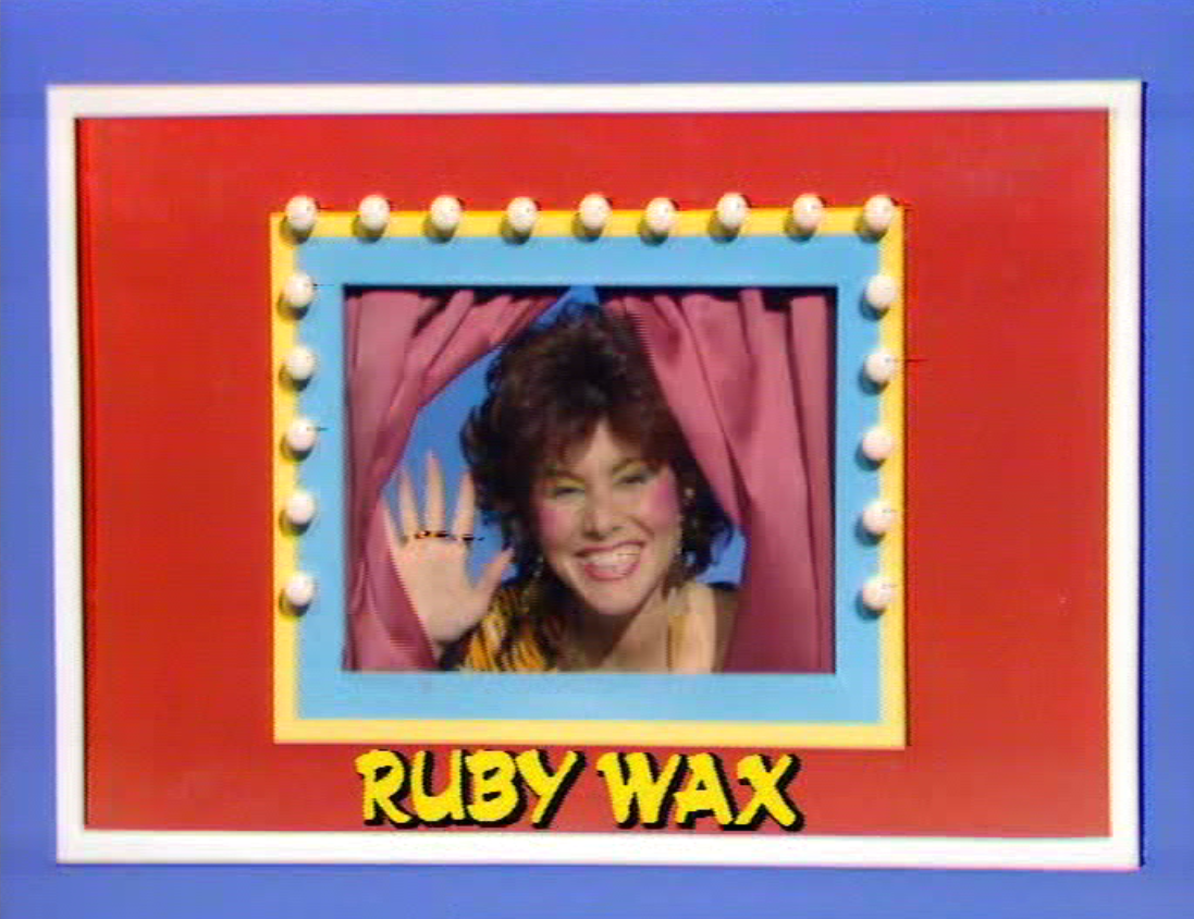 Ruby Wax in Girls On Top (ITV/Central, 1985-86).